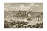 Baltimore  in C1870  from 'American Pictures' Published by the Religious Tract Society  1876
