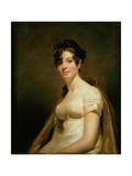 Portrait of Elizabeth Campbell (1756-1823) Marchesa Di Spineto  C1812