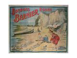 Poster Advertising 'Barnier' Sweets