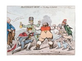 Blindman's Buff  or Too Many for John Bull  Published by Hannah Humphrey in 1795