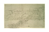 London Bridge  from 'The Panorama of London'  C1544