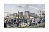 'Local Fetes around Paris'  Series  1830  Vincennes