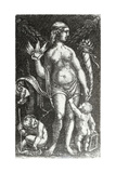 Standing Venus with Two Putti  C1480