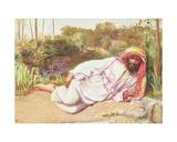 Arab Resting by a Stream  1854