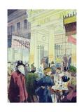 The Theatre Des Varietes  Boulevard Montmartre  1897