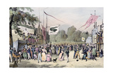 'Local Fetes around Paris'  Series  1830  Saint-Cloud