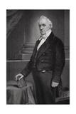 Portrait of James Buchanan (1791-1868) (Detail)