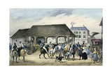 Donkeys Festival at Montmorency  'Local Fetes around Paris'  Series  1830