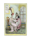 The Fashionable Mamma  or the Convenience of Modern Dress  Published in 1796
