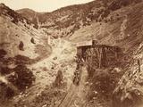 Chicago Hoisting Works  Dry Canyon  Usa  1861-75