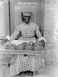 Woman Selling Breadfruit  Trinidad and Tobago  1899-1901