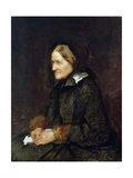 Helene Leibl  the Aunt of the Artist  1867
