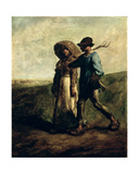 Going to Work  C1850-51