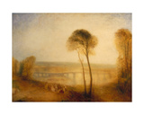 Landscape with Walton Bridges  C1845