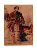 George IV in Highland Dress at the Palace of Holyrood  1822