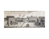 View of Arundel House  Strand  London  Engraved by Adam Bierling  1646