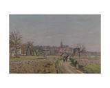 View of Pontoise  1873