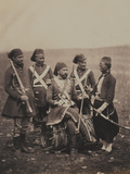 Ismail Pasha (1830-95) and Attendants