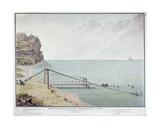 Floating Bridge for Loading Coffee  Saint-Denis  La Reunion  C1730-40