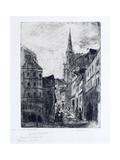 La Rue Malpalue a Rouen  C1885