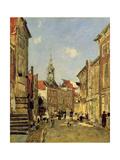 The Rue De Dordrecht  1884