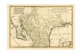 Northern Mexico  from 'Atlas De Toutes Les Parties Connues Du Globe Terrestre' by Guillaume…