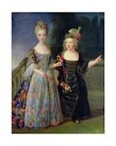 Catherine-Eleonore De Bethisy (1707-67) and Her Brother  Eugene-Eleanore (1709-81)
