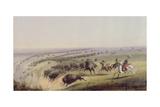 Hunting Buffalo  1837
