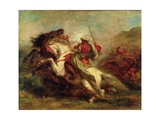 Collision of Moorish Horsemen  1843-44