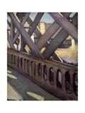 Study of Le Pont De L'Europe  1876