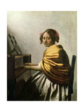 Young Woman at a Virginal