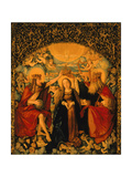 The Coronation of the Virgin  Central Panel from the High Altar  1512-16