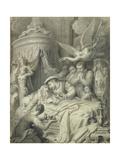 The Death of Leonardo in 1519