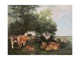 Siesta at Haymaking Time  1868