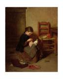 The Little Dressmaker  1858