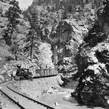 Silver Ore Train  Clear Creek Canyon  Colorado