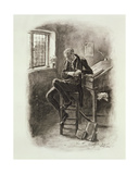 Uriah Heep  from 'Charles Dickens: a Gossip About His Life'  by Thomas Archer  Published C1894