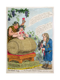 The Wine Duty  or the Triumph of Bacchus and Silenus with John Bull's Remonstrance  Published by…