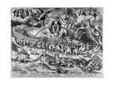 The Last Judgement  Engraved by Pieter Van Der Heyden  1558