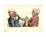 Laughter and Experiment  from 'The Passions Humourously Delineated'  Published 1810