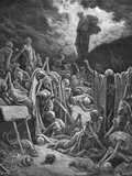 The Vision of the Valley of Dry Bones  Ezekiel 37:1-2  Illustration from Dore's 'The Holy Bible' …