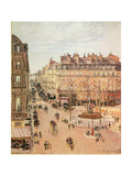 Rue Saint-Honore  Sun Effect  Afternoon  1898
