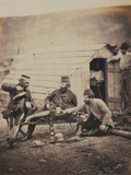 Hardships in the Camp  from an Album of 52 Photographs Associated with the Crimean War  1855