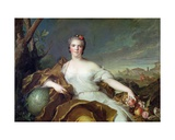 Louise-Elisabeth De France  as the Element of Earth 1750-1
