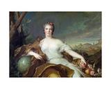 Louise-Elisabeth De France  as the Element of Earth 1750-1