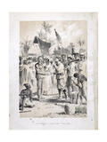 The Meeting of Stanley (1840-1904) and Livingstone (1813-73) at Ujiji on 27th October 1871  from…