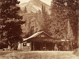 Kessler Peak and Meeks Camp  Big Cottonwood Canyon  Utah  Usa  1861-75