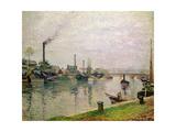L'Ile La Croix a Rouen  1883