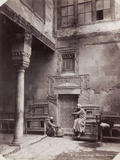 Courtyard of an Arabic House in Egypt  1870
