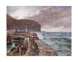 Clovelly Pier  1897